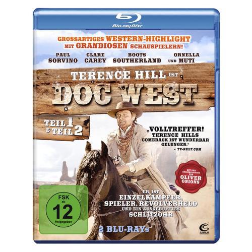 Doc West 1&2 - Nobody ist zurück & Nobody schlägt zurück - 2 Western-Highlights in einer Box [2 Blu-rays] für 8,97€ inkl. Versand @Amazon