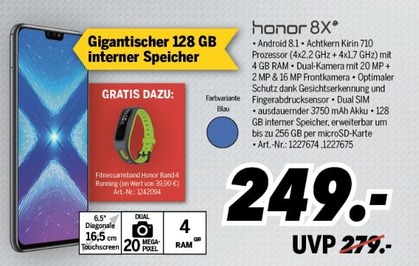 [Medimax Lokal] Honor 8X 128GB + gratis Honor Band 4