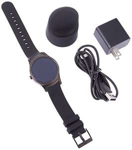Quanta Wear24 Android Wear 2.0 42mm Wifi+Bluetooth Smartwatch nur noch in Gold (Zertifiziert und Generalüberholt)