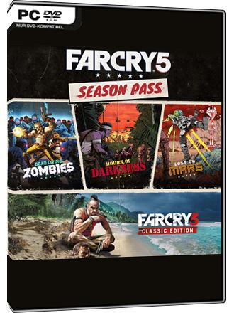 Far Cry 5 Season Pass Voucher Code Uplay PC für 8,99€ bei MMOGA
