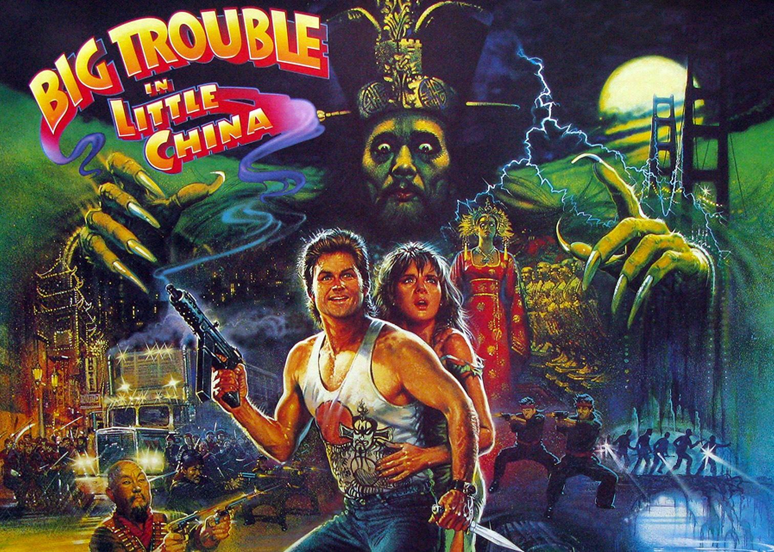Big Trouble in Little China in HD für 3,99 € bei iTunes und Amazon Video kaufen