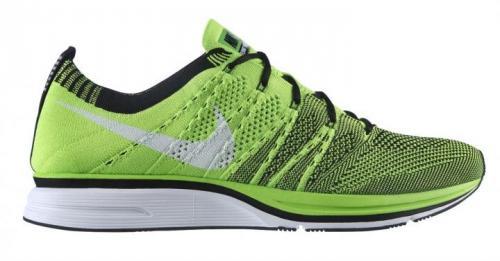 Nike Flyknit Trainer+ Laufschuhe/Sneaker grün 19% Rabatt plus 10% qipu 116,96 anstatt 159,95
