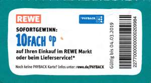 Rewe Coupon 2019