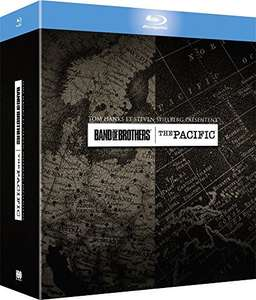 Band of Brothers + The Pacific (Blu-ray) für 18,96€ (Amazon FR)