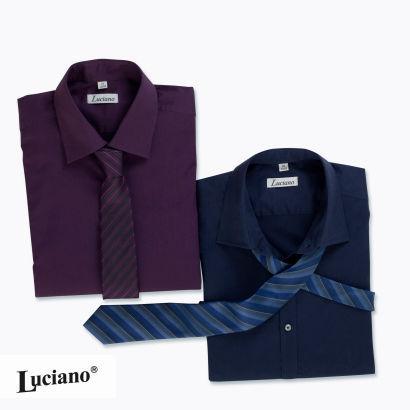AB 22.11 Slimfit-Hemden + Krawatte bei Aldi Nord