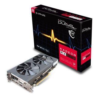 8GB Sapphire Radeon RX 570 Pulse Aktiv + 2 Spiele