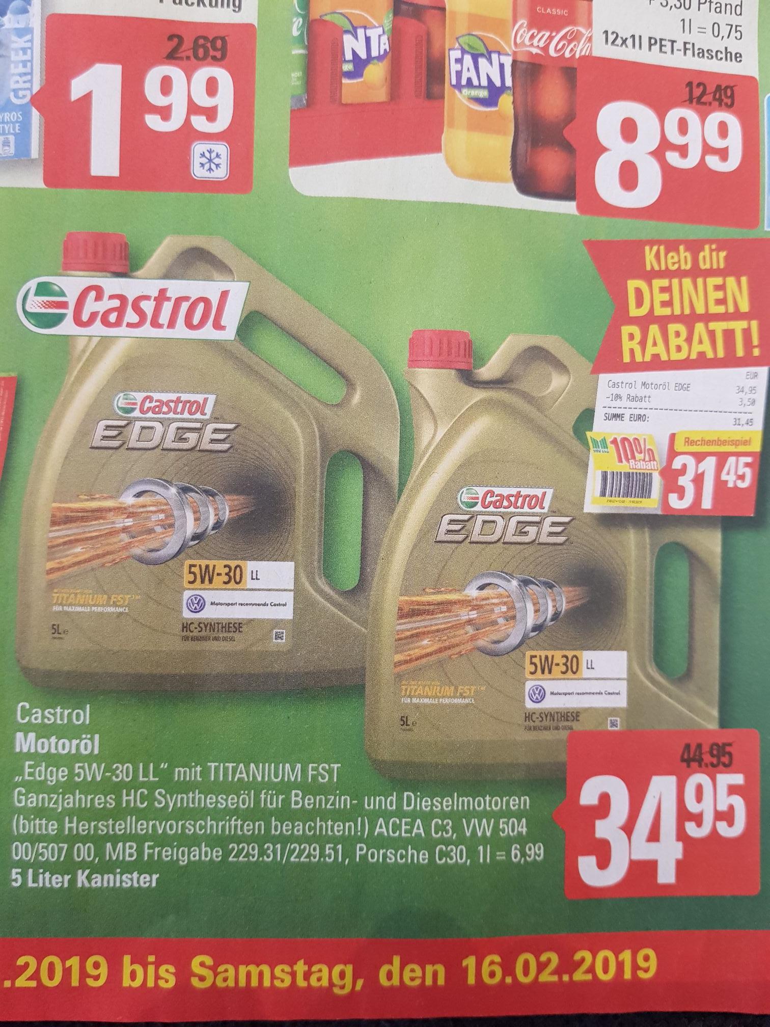 [Lokal] Castrol Edge 5W-30 LL Titanium FST