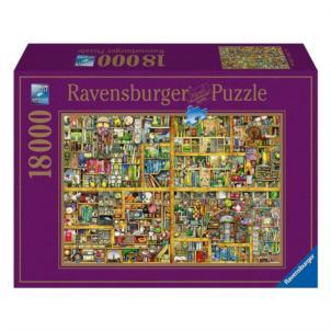 Ravensburger Puzzle Magisches Bücherregal 18000 Teile (2,76 x 1,92 Meter) 8kg Purzzleteile