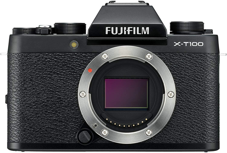 Fujifilm X-T100 Systemkamera schwarz