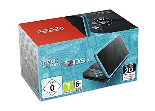 Nintendo New 2DS XL (Schwarz-Türkis) für 119,43€ (Amazon FR)