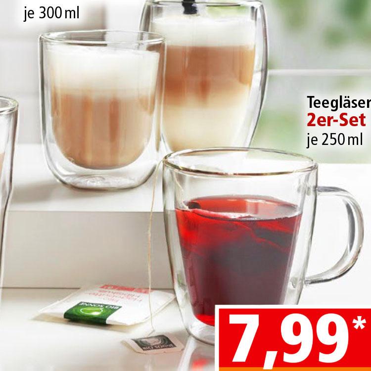 Doppelwandige Thermogläser für nur 7,99€ bei ( Norma ab 18.2.)