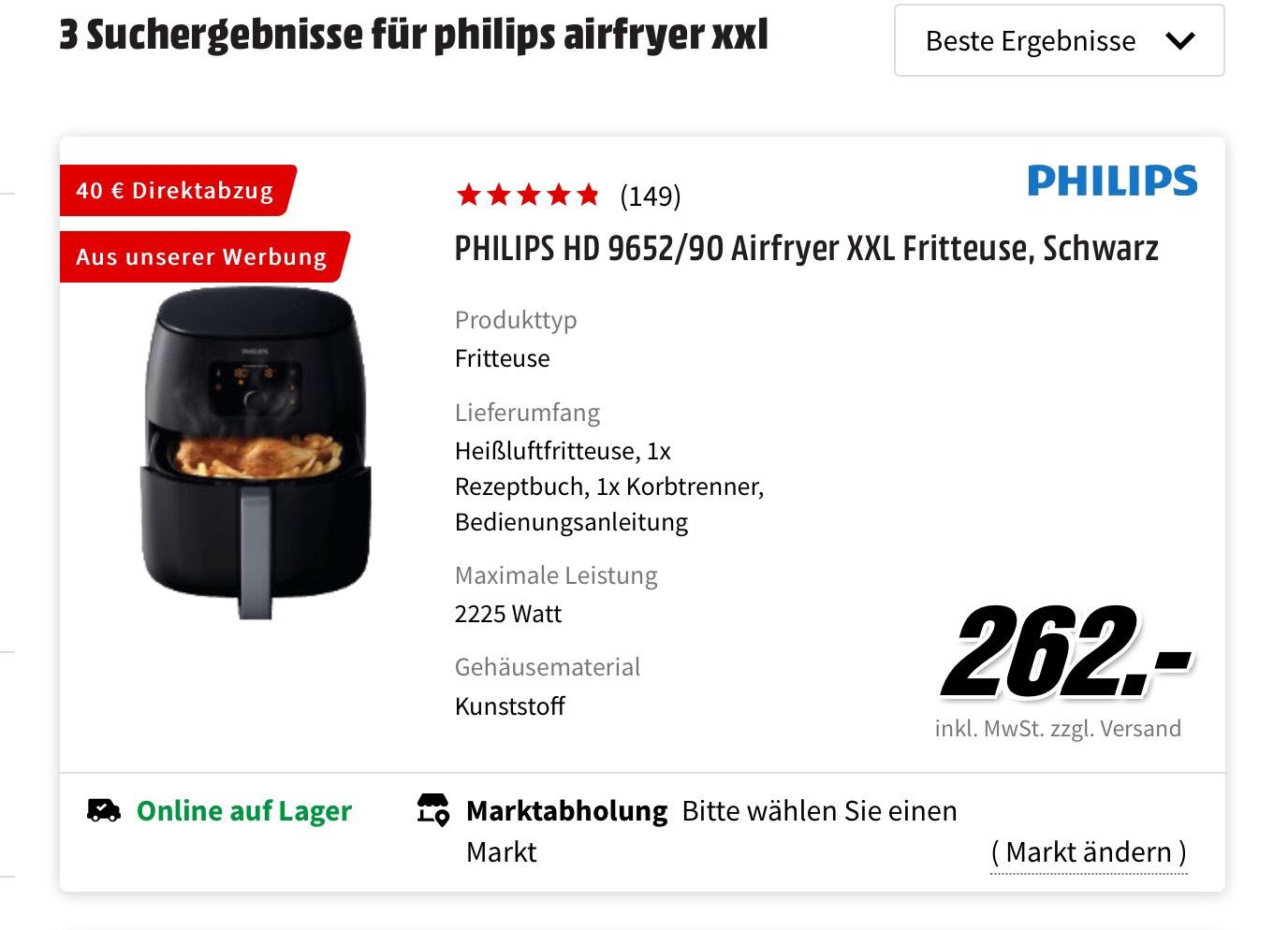 Philips HD9652/90 Airfryer XXL