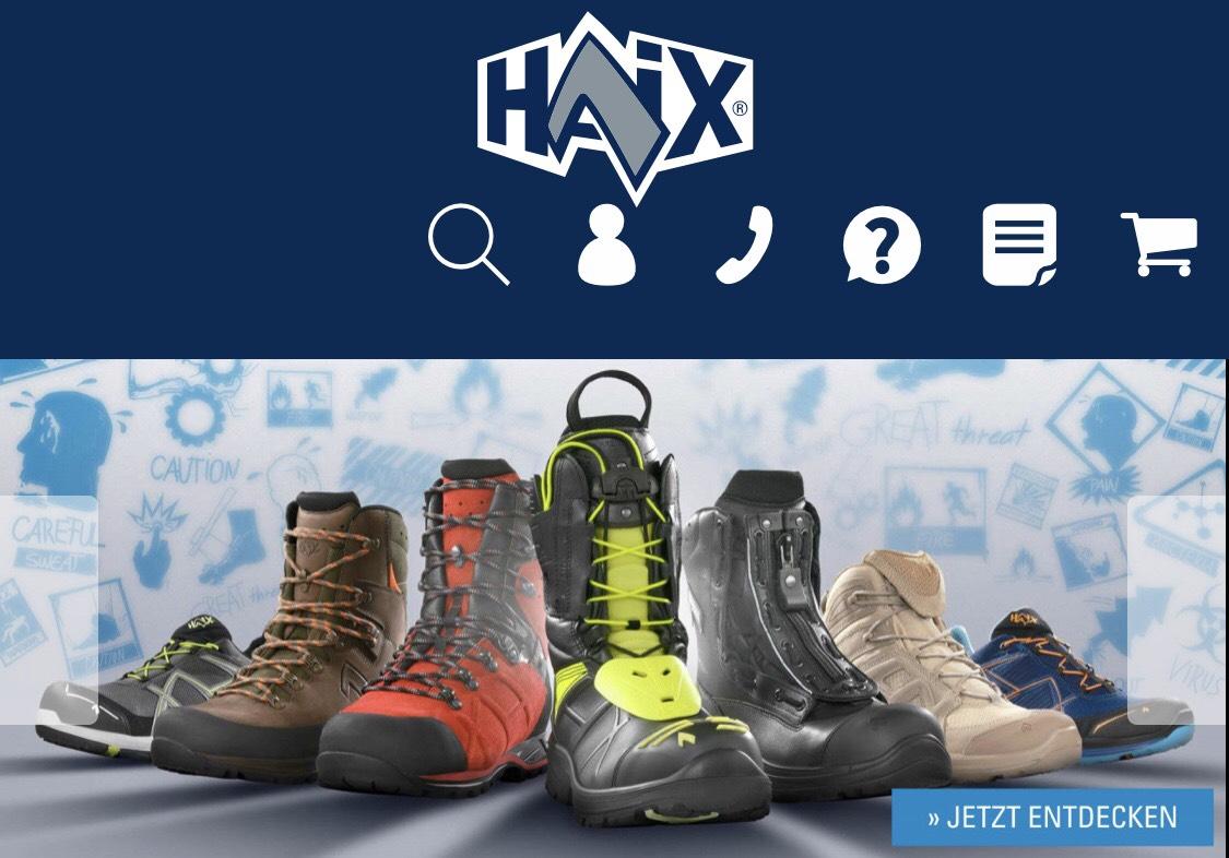 11,20€ Rabatt zum Tag des Notrufs   HAIX.de