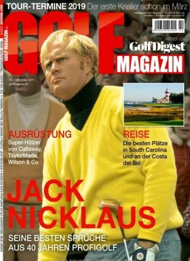 Golf Magazin Abo (12 Ausgaben) für 82,80 € mit 75 € Amazon-Gutschein oder 70 € Verrechnungsscheck