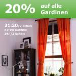 IKEA  -20% auf alle Gardinen und Schiebegardinen!