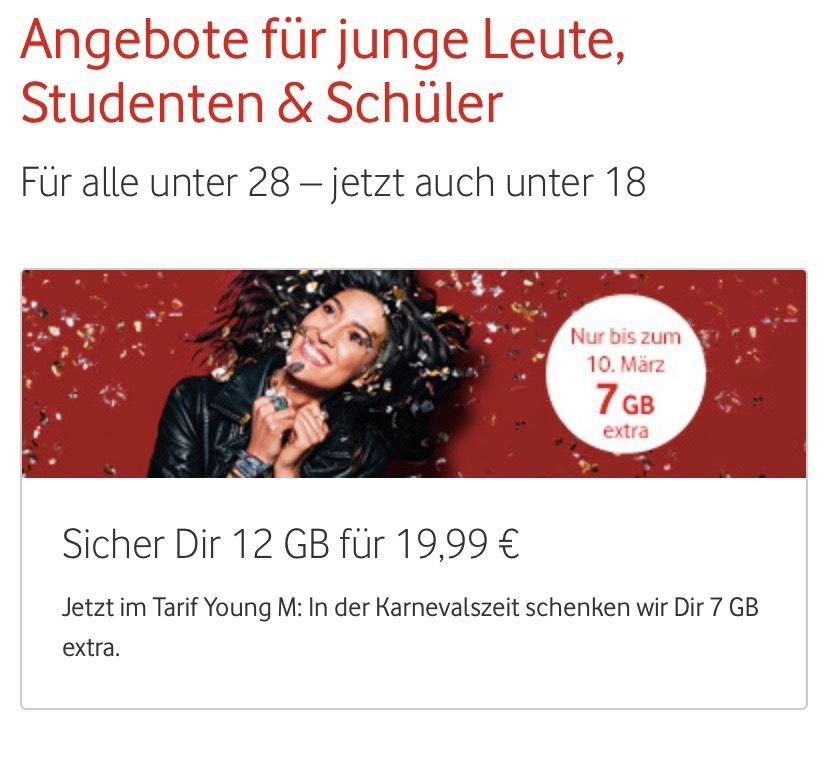 [Studenten+GigaKombi] iPhone XR + Vodafone Young M 12 GB + GigaKombi + Unidays Rabatt
