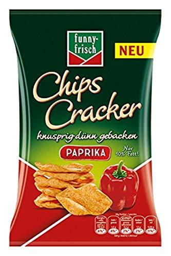 (Amazon prime) funny-frisch Chips Cracker Paprika, 12er Pack (12 x 90 g)