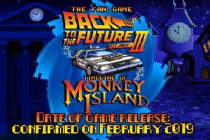 Kostenloses Fangame: Back to the Future III Timeline of Monkey Island