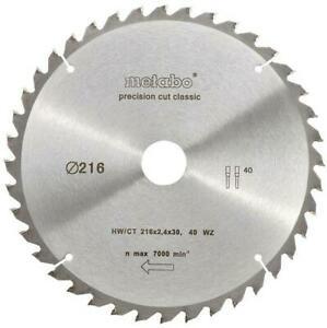 METABO Precision Cut Classic Kreissägeblatt