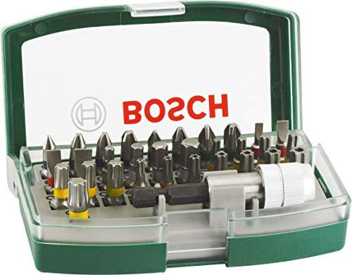 Bosch 32tlg. Schrauberbit-Set mit Farbcodierung [Amazon Prime]