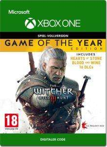 The Witcher 3: Wild Hunt - Game of the Year Edition (Xbox One) für 7,78€ (Xbox Store AR Live Gold)