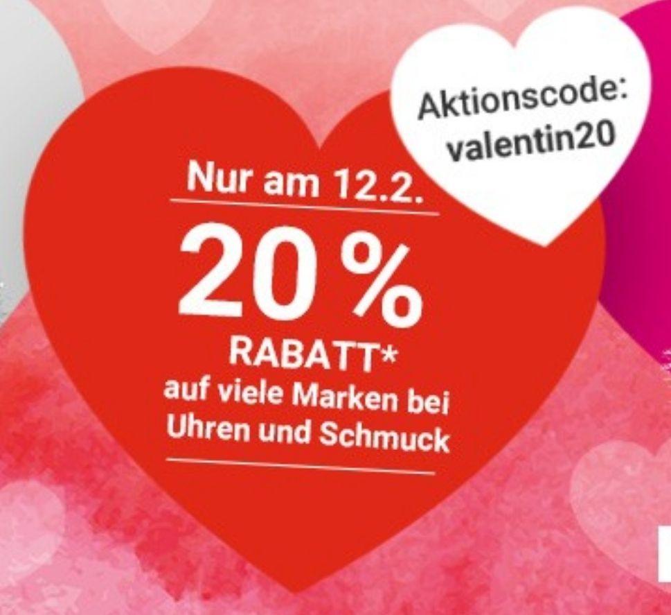 Karstadt & Galeria Kaufhof: 20% Rabatt auf viele Marken bei Uhren und Schmuck [Online/Offline]