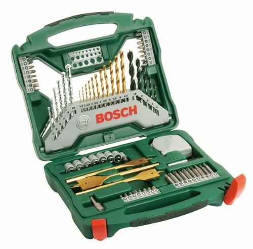 70-teiliges Bosch X-Line Bohrer- und Bitset