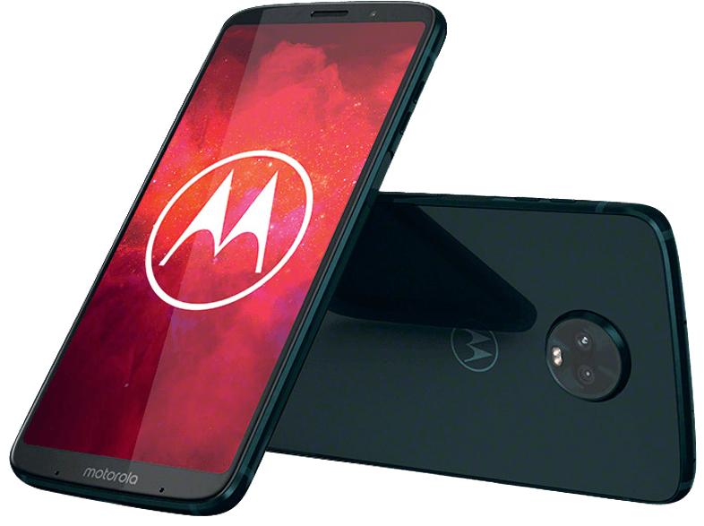 Motorola Moto Z3 Play - 6,0 FHD+ Dual-SIM (64GB, 4GB RAM, NFC, USB-C, Android 8.1)