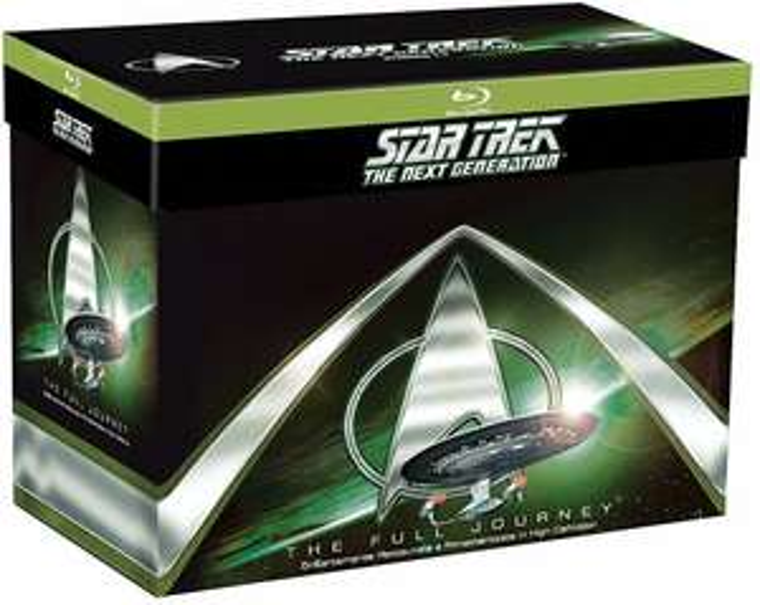 Star Trek - The Next Generation - Die komplette Serie (41x Blu-Ray Disc) bei (Amazon.it)