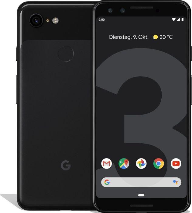 "Google Pixel 3 Smartphone (5.5"", 2160x1080 Pixel, 4GB/64GB, Snapdragon 845, Android 9.0) für 516,06€ [eBay-Saturn]"