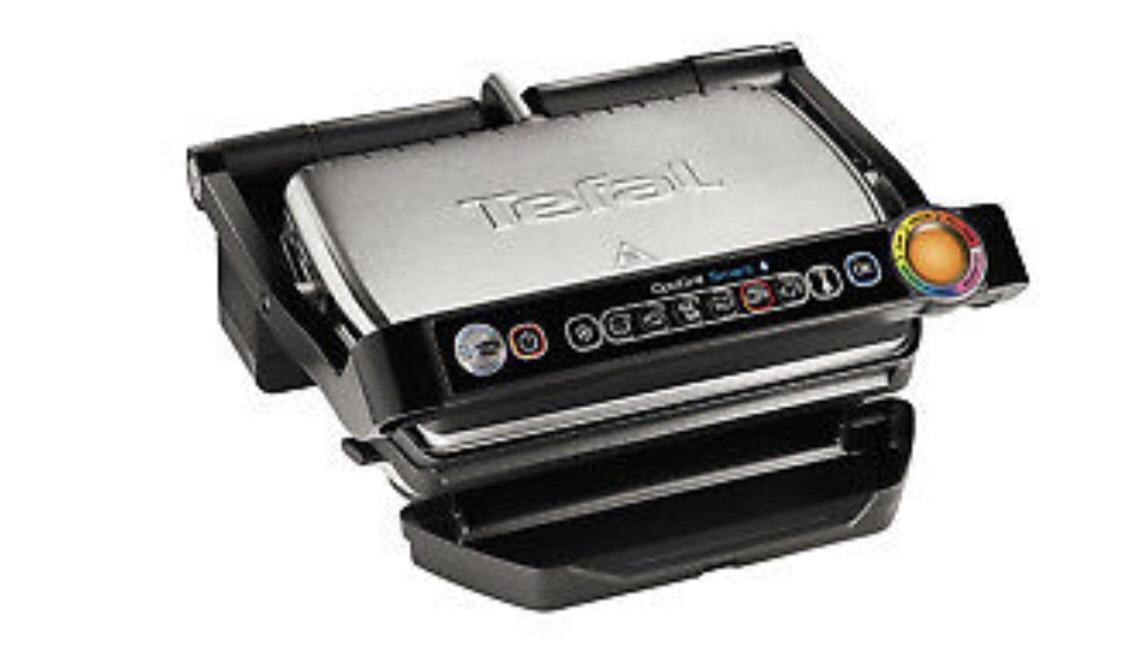 Tefal Bluetooth-Elektrogrill Optigrill GC730D 2000 W