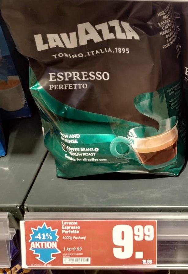[HIT] LAVAZZA Espresso Perfetto / Cremoso 9,99€/kg