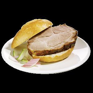 Mc Donalds Alternative für die Mittagspause: Spießbratenbrötchen für 1,50€