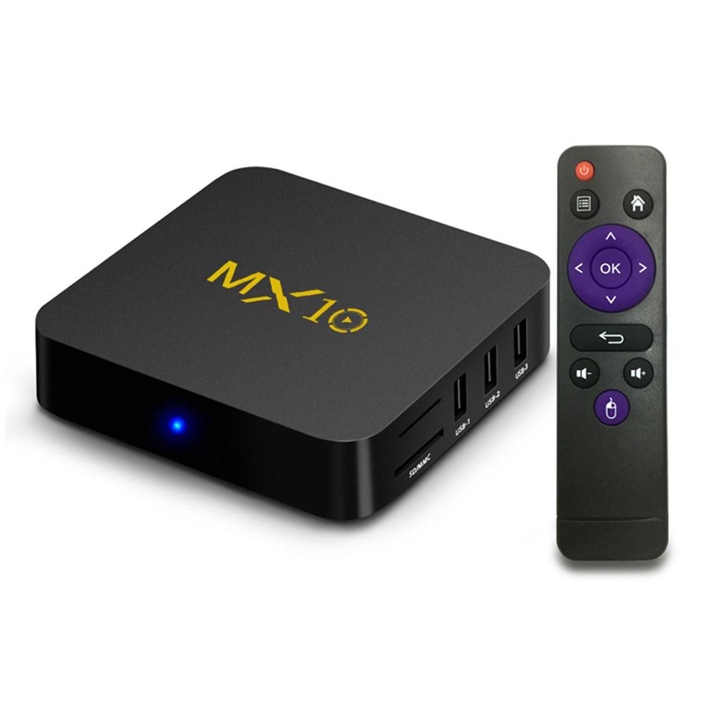 MX10 RK3328 4GB/64GB Android 9.0 KODI 18.0 4K TV BOX  (V. aus Deutschland)