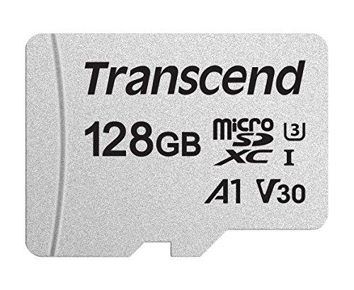 Transcend 300S 128GB microSDXC Speicherkarte (R: max. 95MB/s, W: max. 45MB/s, A1, U3, V30) für 16,29€ [Amazon Prime]