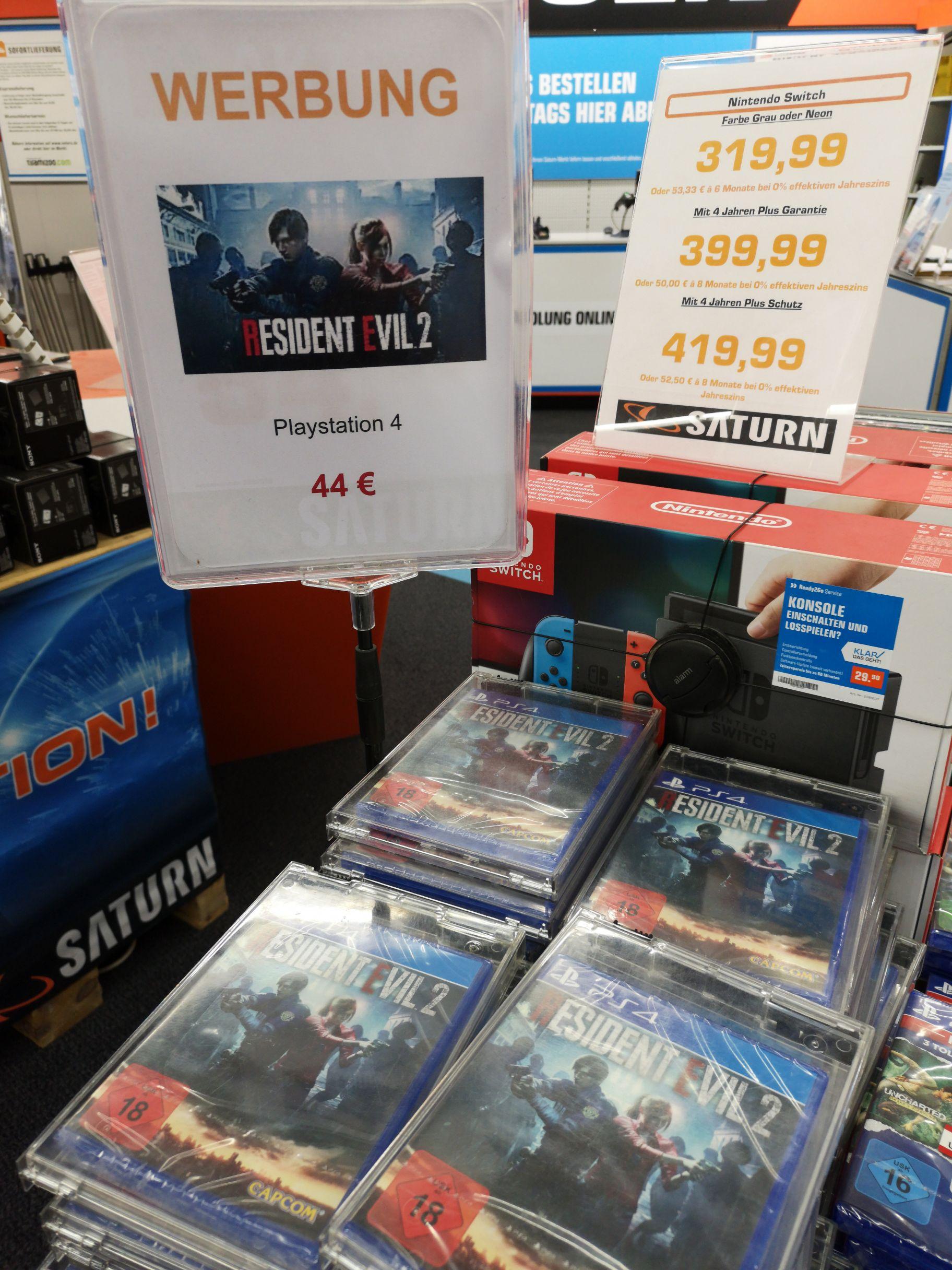 Residet Evil 2 Remake PS 4 [LOKAL @Saturn Nürnberg]