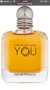 Emporio Armani Stronger with You for Him 50ml bei Point Rouge 8% Shoop