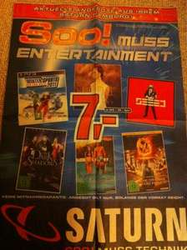 [LOKAL] Saturn Hamburg - Diverse Angebote - z.B. WWE 13 (PS3) für 39€; Tribute von Panem DVD 7€; Californication 7,99€/Staffel uvm.