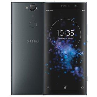 """Sony Xperia XA2 Plus 32GB in schwarz - 6"""" Smartphone mit 4GB Ram, 32GB Speicher, 4K Aufnahme"""