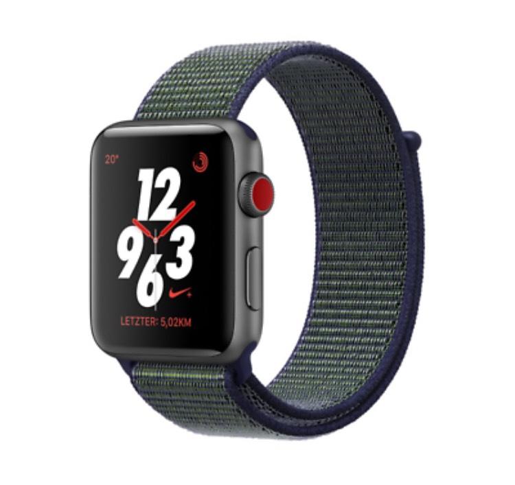 Apple Watch Series 3 Nike+ GPS+Cellular 38mm [eBay/Cyberport]