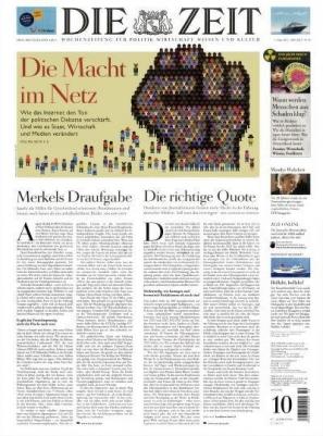 Die Zeit Miniabo (13 Ausgaben) für 65 € mit 65 € Verrechnungsscheck