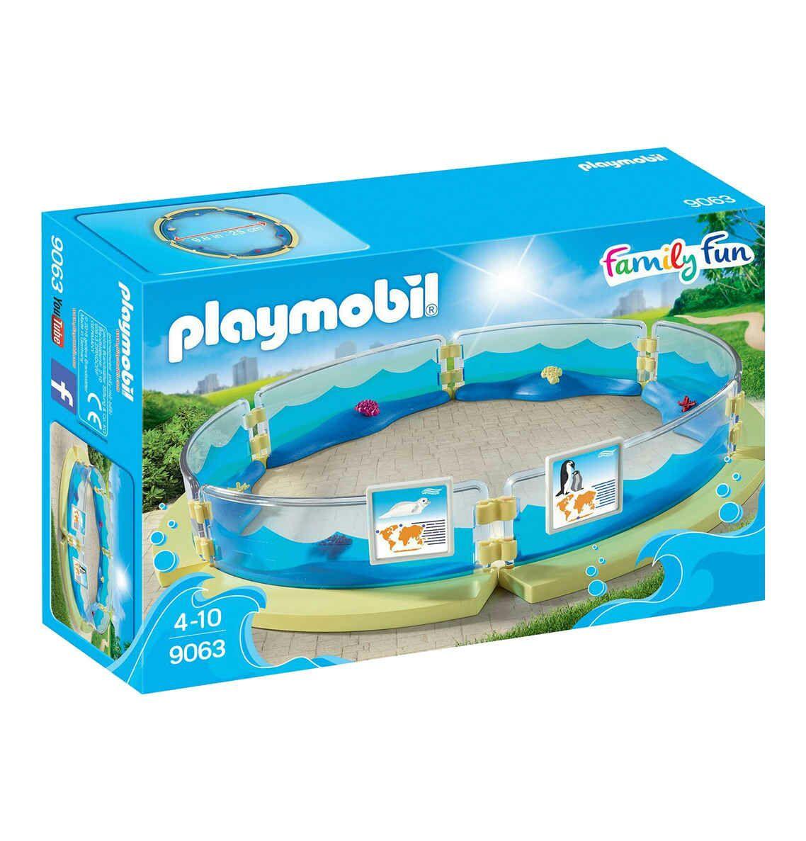 [Galeria Kaufhof] Playmobil family fun Meerestierbecken 9063 (Filialabholung, Versand +3,95)