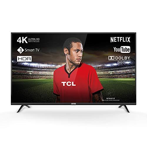 [Amazon] TCL 55DP602 Fernseher 139 cm (55 Zoll) Smart TV (4K UHD, HDR, Dolby Digital Plus, T-Cast, Triple Tuner) Schwarz