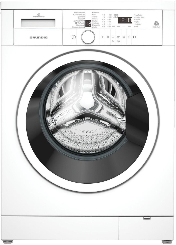Waschmaschine Grundig GWN 36432 (A+++, 6kg, 1400 U/min, Invertermotor, 16 Programme, Allergikerprogramm, Edelstahltrommel)