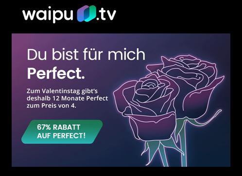 67% Rabatt auf das Waipu Perfect für bis zu 12 Monate! (für Neu und Gratiskunden)