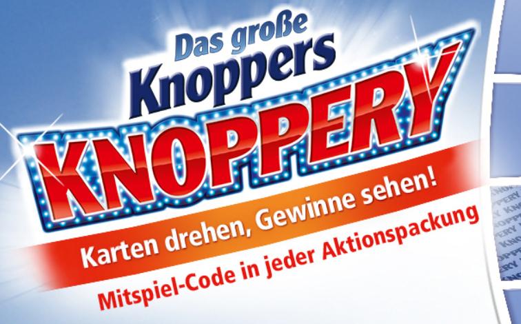 5€ Eventim Gutschein als Sofortgewinn in Knoppers Aktionspackungen