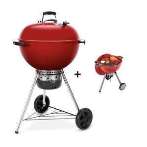 Weber Master-Touch GBS Limited Edition Kugelgrill, 57cm, in Rot inklusive Kugelgrill für Kinder