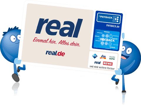 1000 Paybackpunkte ab einem Einkauf von 100 Euro bei Real von 7.03-9.03