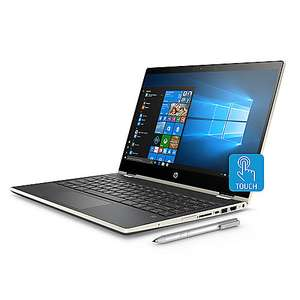[Cyberport] HP Pavilion x360 14-cd0104ng 2in1 Notebook gold i3-8130U Full HD IPS 8GB RAM 256GB SSD Touch Windows 10
