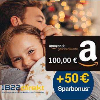 LETZTE CHANCE: 150€ für JEDES Kind: kostenlosen ETF-Sparplan bei 1822direkt einrichten und 100€ Amazon Gutschein + 50€ Bonus erhalten